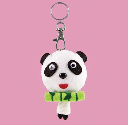 Baby Panda Keyring