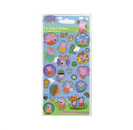 Peppa Pig Foil Stickers