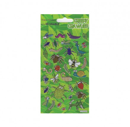 Creepy Crawlies Foil Stickers