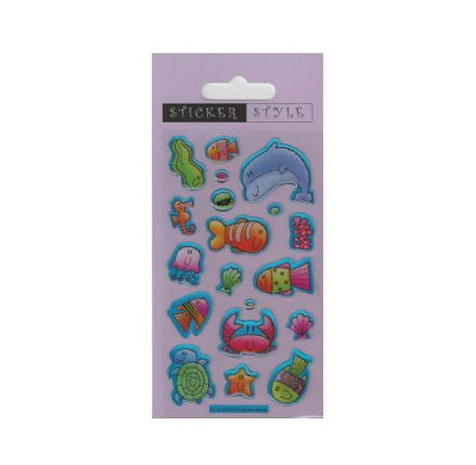 Sea Creatures Craft Stickers