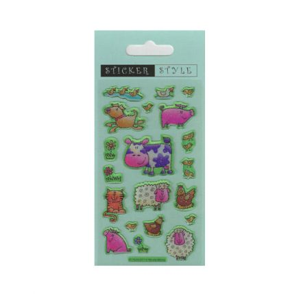 Farm Animal Craft Stickers