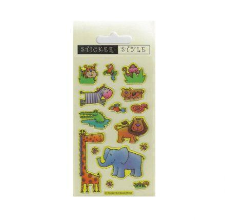 Jungle Animals Craft Stickers