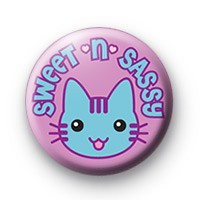 Sweet Sassy Cat Badge