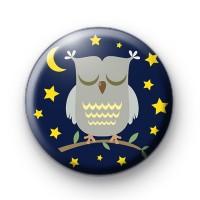 Sleepy Night Owl Badge