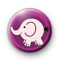 Pink Elephant Badge