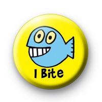 I Bite Badge