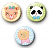 Kawaii Animals badges