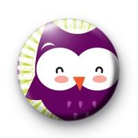 Big Purple Owl Badge