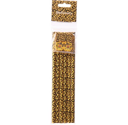 Cheetah Print Pencils with Erasers