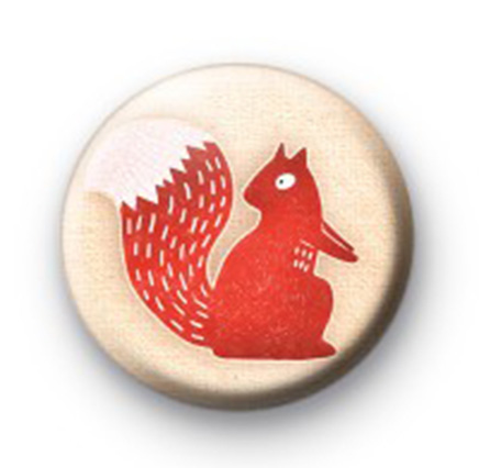 Red Squirrel Badge