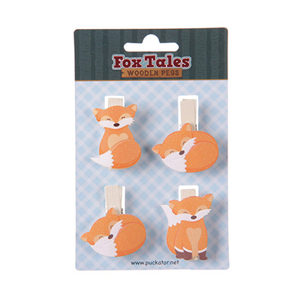 Fox Craft Pegs