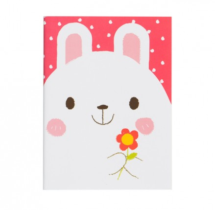 White Bunny Notebook