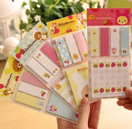 Rilakkhuma sticky notes