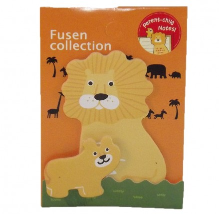 Lion Sticky Notes Pad