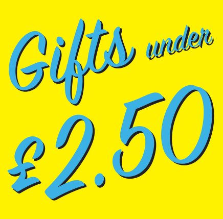 Gifts under .. £2.50
