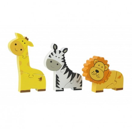 Safari Mini Puzzles