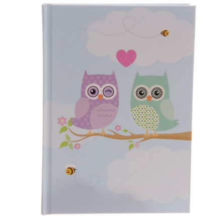 Owl Hardbacked Notebook
