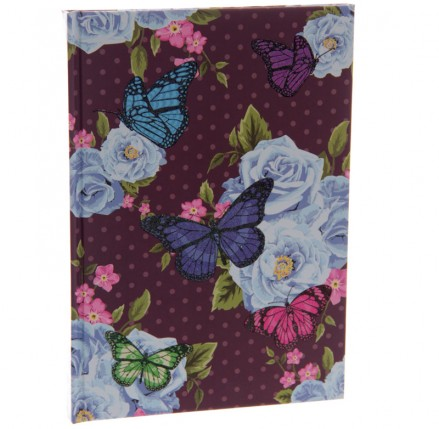 Butterfly Hardbacked Notebook