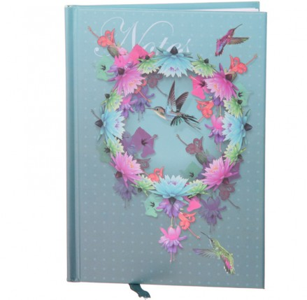 Hummingbird Hardbacked Notebook