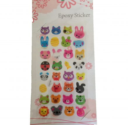 Animal Head Stickers