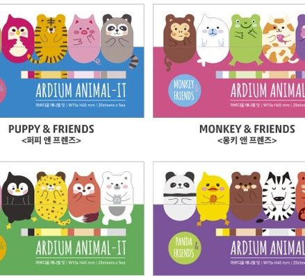 Animal Friends Sticky Notes Pad
