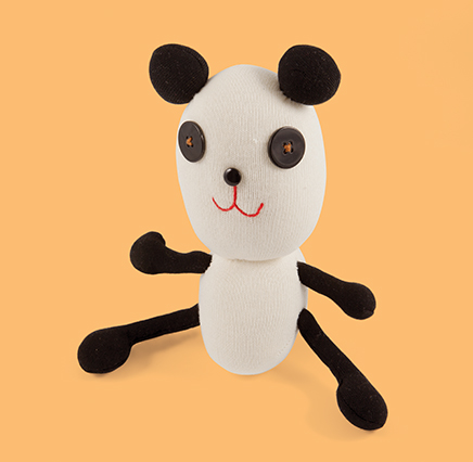 White and black Panda Soft Toy