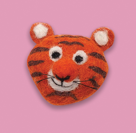 Tiger Brooch