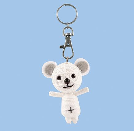 Happy Bear - White
