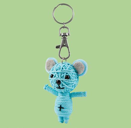 Happy Bear - Blue