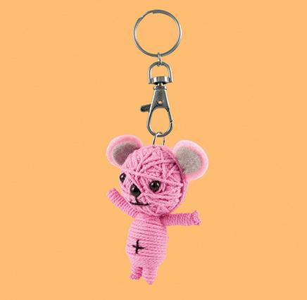 Happy Bear - Pink