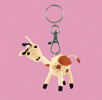 Keyrings - String Dolls