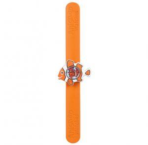 Orange Clownfish watch on orange snapband