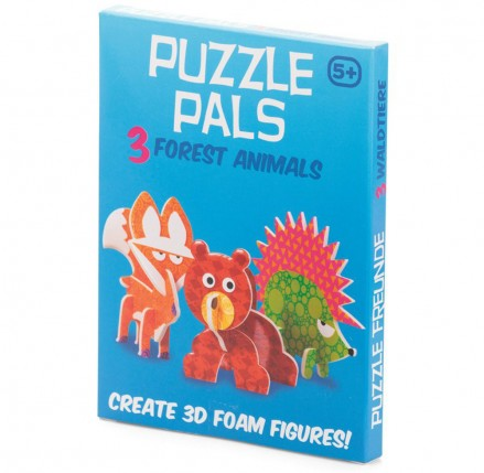 Forest Animals Puzzle Pals
