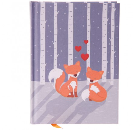 Love Foxes Hardbacked Notebook