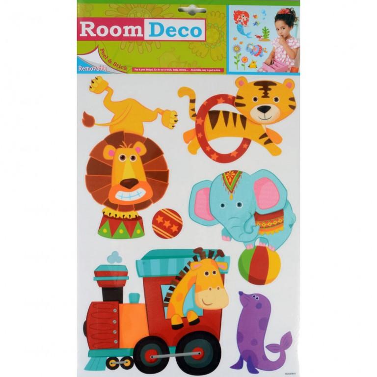 Circus Animal Wall Stickers