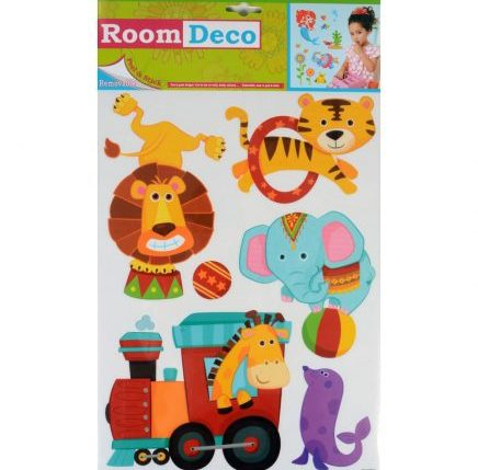 Circus Animal Wall Stickers