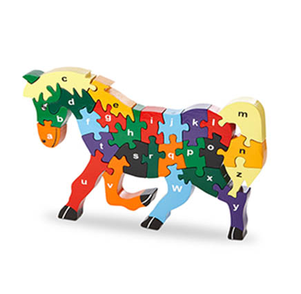 colourful horse jigsaw