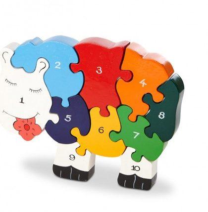 Sheep Number Jigsaw