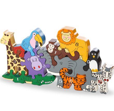 Animals of the Zoo Jigsaw